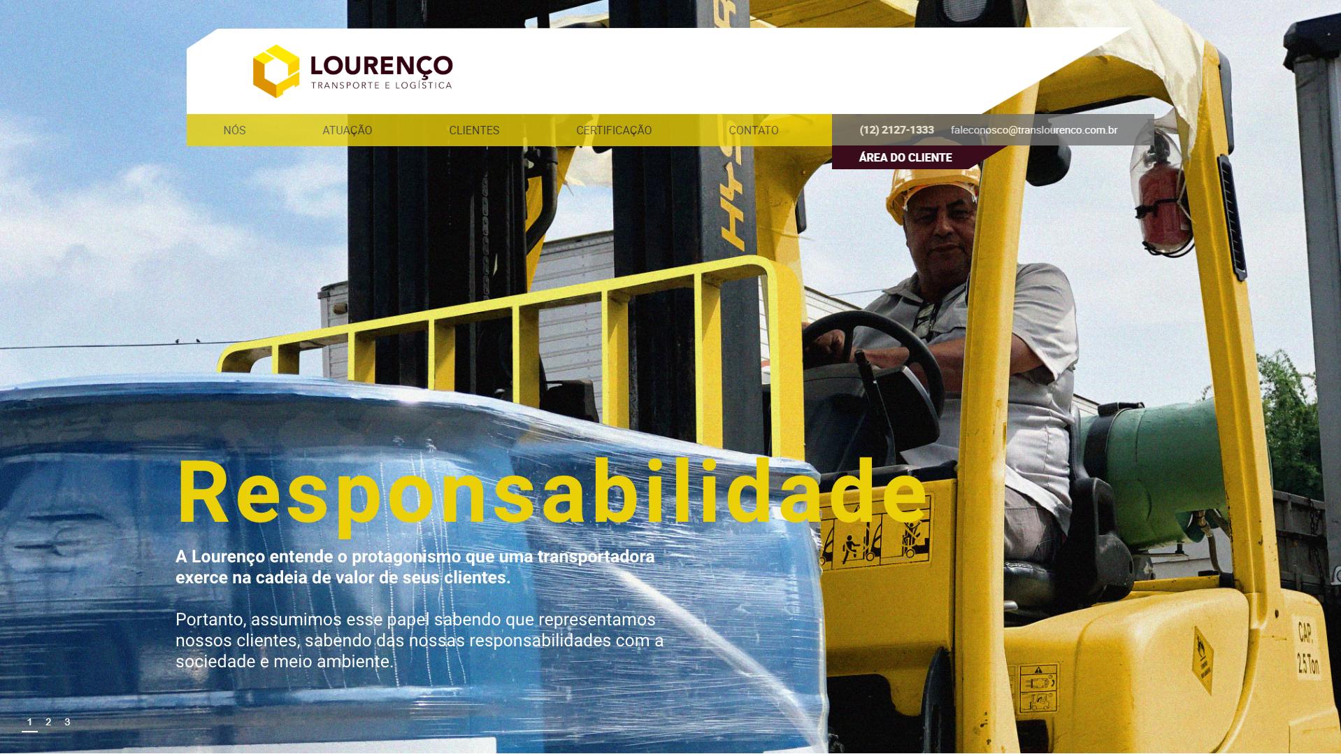 Website Translourenço