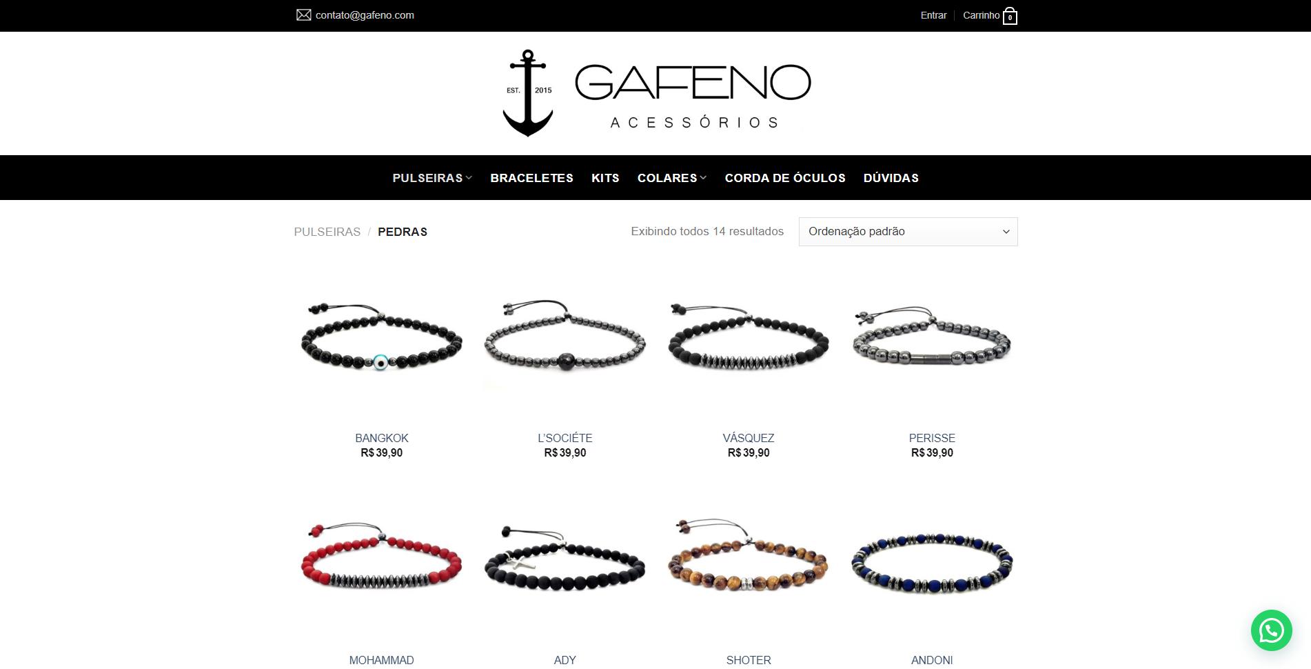 E-commerce Gafeno