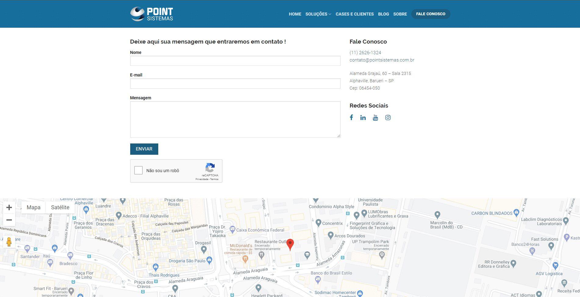 Website Point Sistemas
