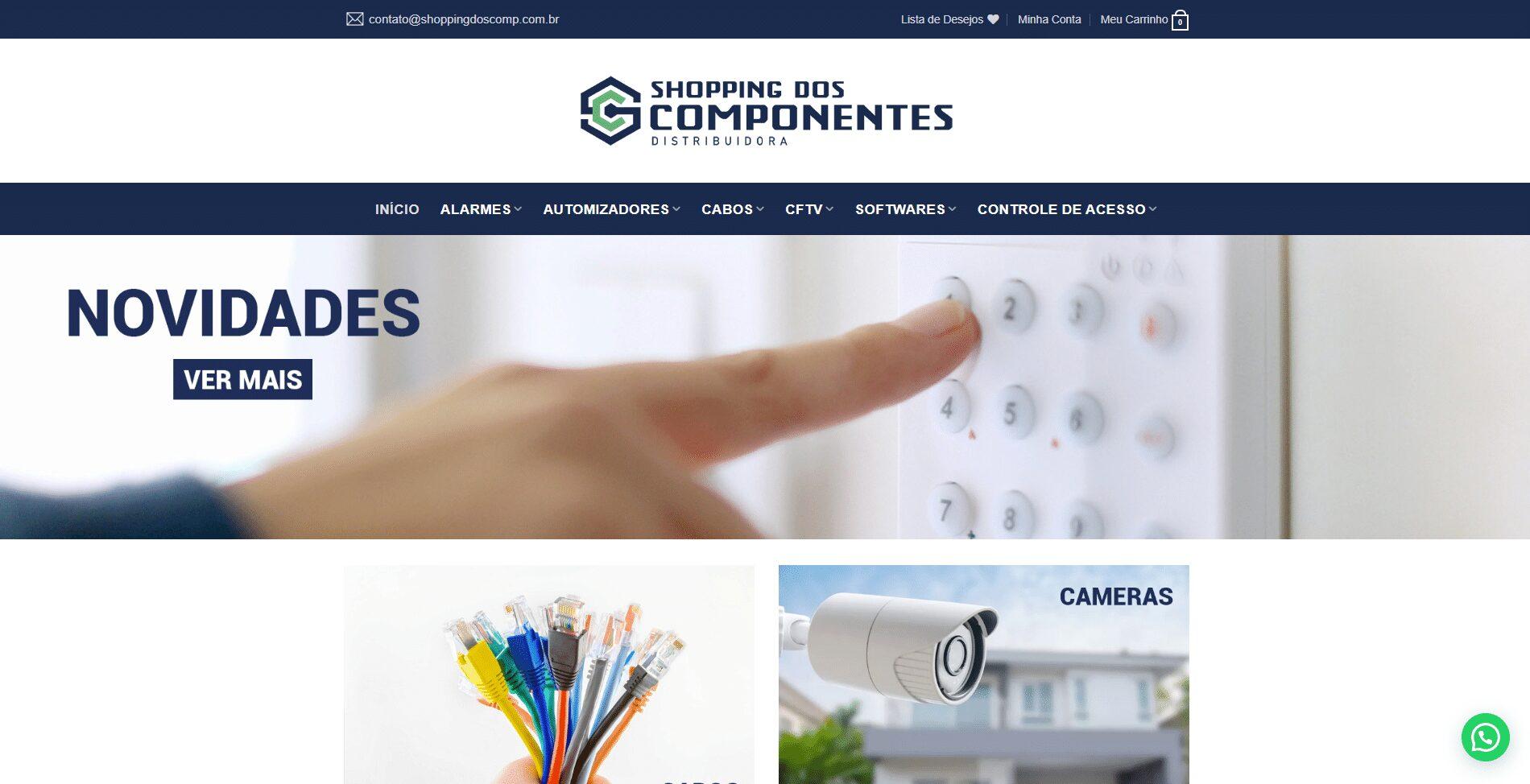 E-commerce Shopping dos Componentes
