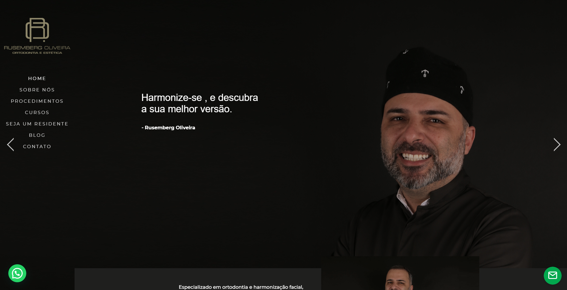 Website Rusemberg Oliveira