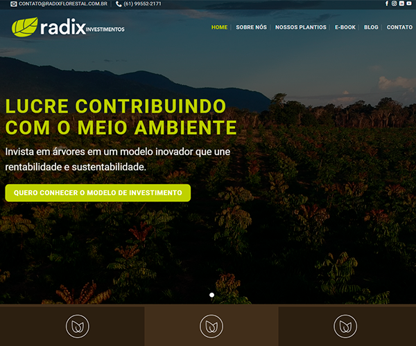 Website Radix Florestal