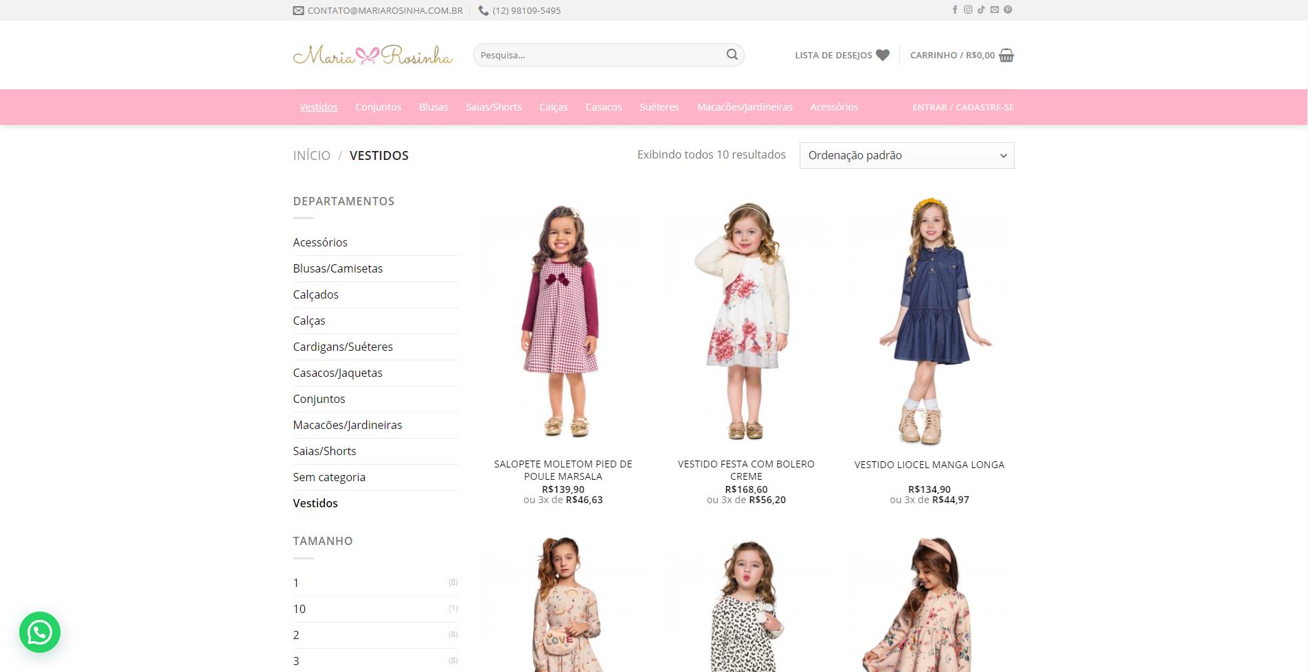 E-commerce Maria Rosinha